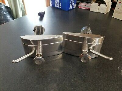Pair Of Stainless Condiment Syrup Pump Stainless - Heavy Duty