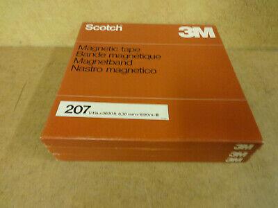 "10"" (26,50 CM) METAL REEL TAPE SCOTCH IN ORIGINAL BOX"