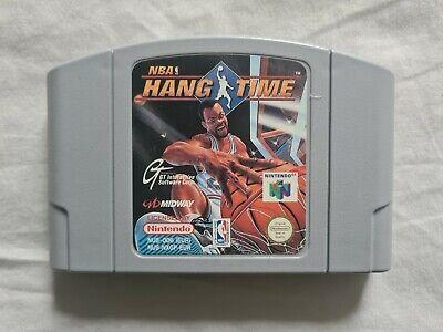 NBA HANG TIME Nintendo 64 N64 Game PAL VERSION