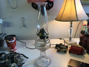 COAL OIL LAMP $25