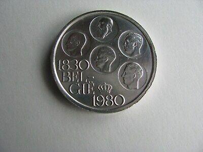 500 Fr BELGIQUE 1980-en néerlandais-argent.