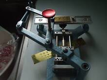 ENGRAVING MACHINE+ 2 SETS OF LETTERS&NUMBERS Norville Bundaberg City Preview