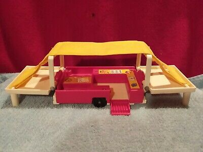 Vintage Fisher Price Pop Up Camper #992