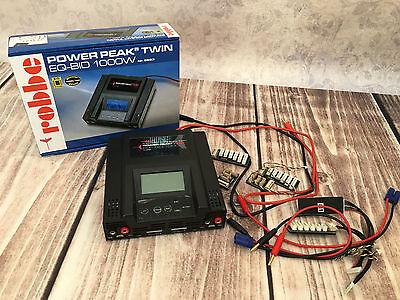 Ladegerät Robbe Power Peak Twin EQ-BID 1000W