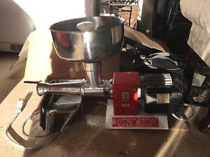 Tomato sauce press squeezer machine meat grinder