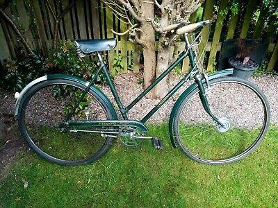 Vintage bicycle Triumph Rod Brakes Step Through Ladies 50s/60s