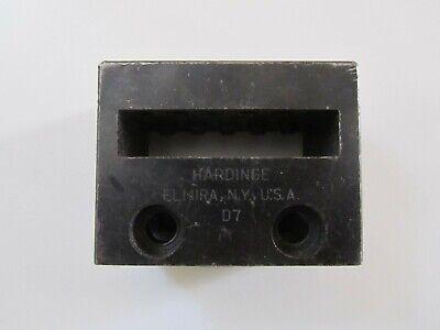 Hardinge Dv-59 D7 Multi Tool Holder Cross Slide Multitool Lathe Cutting