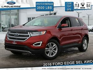 2016 Ford Edge SEL**AWD*CUIR*TOIT*GPS*CAMERA*
