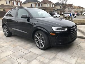 "2016 Audi Q3 Technik Sline Black Optics Nav 20"" full load"