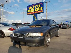 Volvo S60R AWD/Manuelle/Toit ouvrant/Cuir/4C
