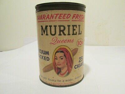 Muriel paper label cigar tin for sale  Cape Coral