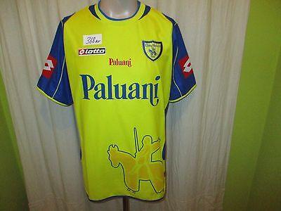 Chievo Verona Original Lotto Heim Trikot 2003/04