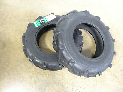 Two 7-14 Harvest King Economy G1 Garden Tractor Lug Tires 6 Ply Tubeless