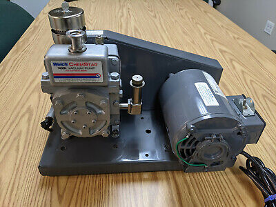 Welch 1400n Welch 1400 Vacuum Pump With Mist Filter .9cfm 115v