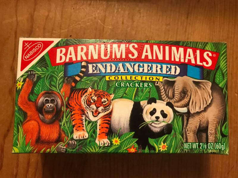 Vintage 1995  WWF Nabisco Barnum
