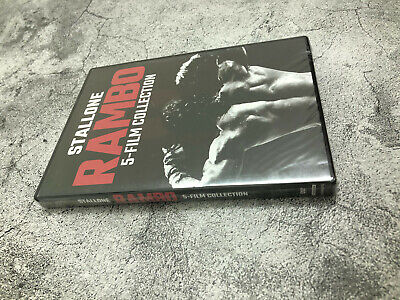 Rambo 5-Film Collection Series 1-5 DVD Digital Brand New US