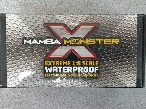Castle Creations Mamba Monster X Waterproof 1/8 Scale Brushless ESC 010-0145-00