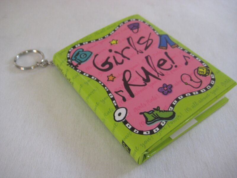 BRAND NEW Girls Rule Inspirational Book With Key Chain