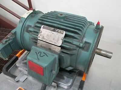 Reliance Vxs Variable Speed Motor 01mlj5246 C002da 2hp 11602300rpm 230v Used