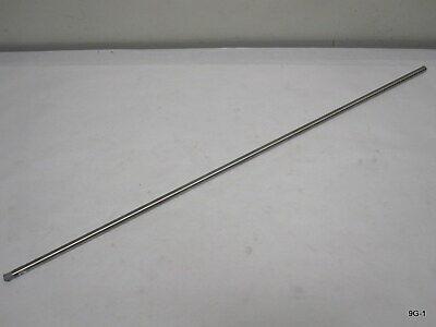 Eisco Labs Steel Retort Stand Rod 29.5 10 X 1.5mm Thread
