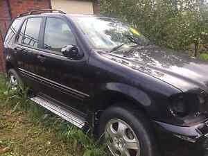 WRECKING MERCEDES W163 BLACK 2004 ML270 Meadow Heights Hume Area Preview