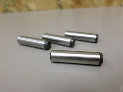 """BRIGHTON  1/4""""  x 1"""" Locating Dowel Pins  Alloy Steel   PACKAGE OF 4 NEW PINS"""