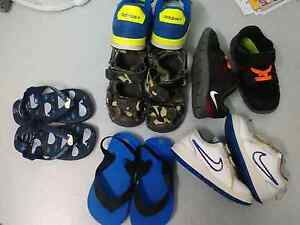Kids shoes nike adidas Bass Hill Bankstown Area Preview