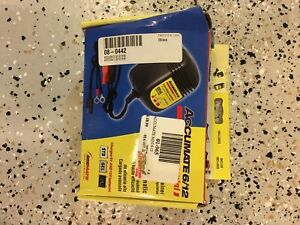 Motorcycle battery charger.   Trickle charger