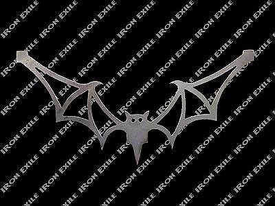 Bat Silhouette (BAT 02 -- Metal Plasma Cut Out Silhouette Stencil Halloween Vampire)