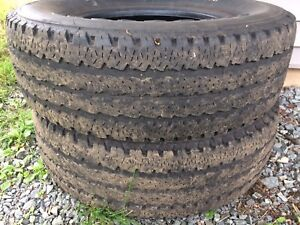 """Two 18"""" tires for sale LT275/70R18"""
