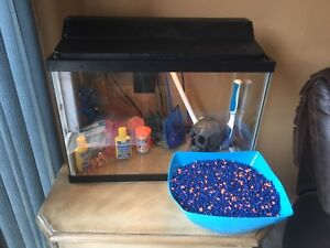 20 Gallon Fish Tank with all Accessories