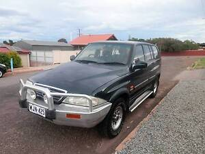 2000 Ssangyong Musso Wagon 5 SPEED Whyalla Whyalla Area Preview