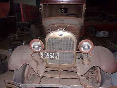 1929 Ford Model A  29 Model A Pickup, Rat Rod, Project, Barn Find