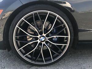 BMW 20in M wheels with tires