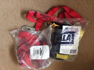Two new harness and lanyards