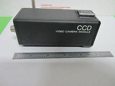 Microscope Inspection Video Camera Ccd Sony Xc-57 Optics As Is Binn5-02