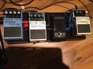 Pedals to trade