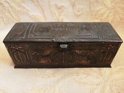 Rare Antique Marcovitch Black & White Cigarettes Tin