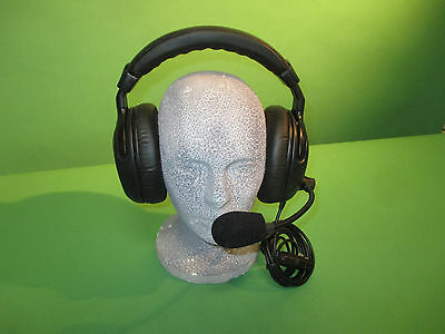 2 Muff Tom Com Headset 4 Clearcom Rts Radiotec Riedel Hme Cbs Abc Nbc U Later