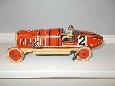 Tipp&co Tinplate Racing Car German 1920's-30's?