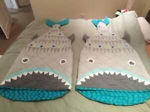 Children's Shark Sleeping Bags