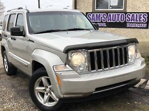 2009 JEEP LIBERTY LIMITED AMAZING WINTER CAR