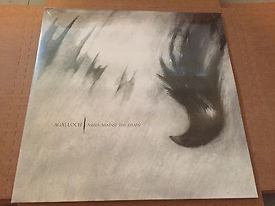 AGALLOCH - ASHES AGAINST THE GRAIN - BLACK VINYL - 2 LP record SEALED mantle