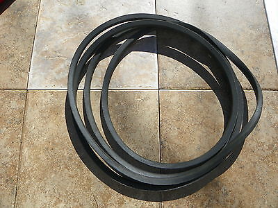 Set Of 2 Belts For A Curtis Fm180 Finish Mower Code 542004