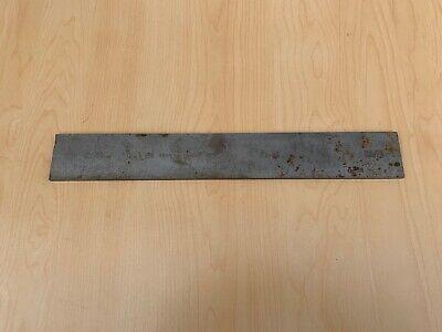 Vintage Brown Sharpe Oil Or Water Steel Straight Edge