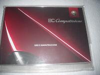Alfa Romeo ,8c Coupe Competizione, Libretto Uso E Manutenzione -raro E Nuovo - alfa romeo - ebay.it
