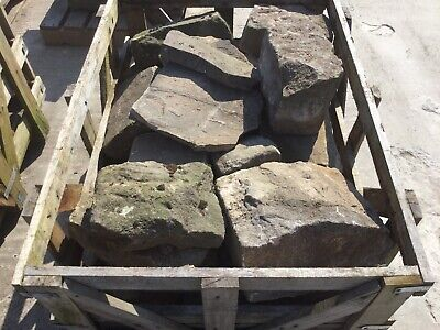 Crate Of Mixed Sizes Of garden rockery stones Sale £50 Pick Your Own