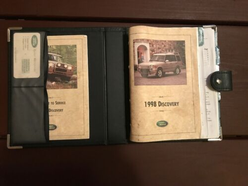 1998 Land Rover Discovery Owners Manual With Case OEM Free Shipping