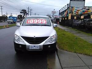 2011 Ssangyong Actyon Sports Ute Campbellfield Hume Area Preview
