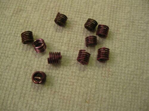 1/4-20 x .375 Helicoil Screw-Locking Thread Insert 10pc Lot